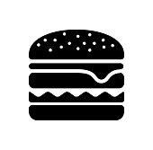 hamburger / junk food icon