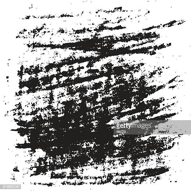Hand Drawn Holzkohle Gekritzel Hintergrund