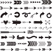 Arrows illustrated in a graphic style.