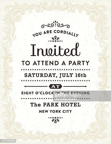 Hand Drawn Invitation