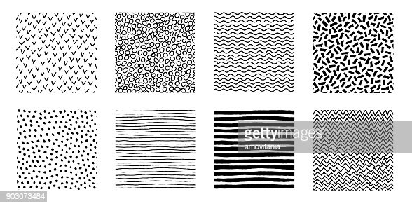Hand Drawn Patterns Doodle Design : stock vector