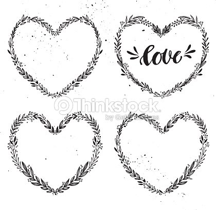 Hand Drawn Vector Illustration Vintage Decorative Collection Art