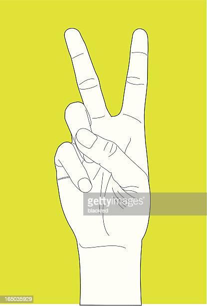 Main geste numéro deux