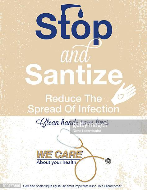 Hand Sanitizer Poster