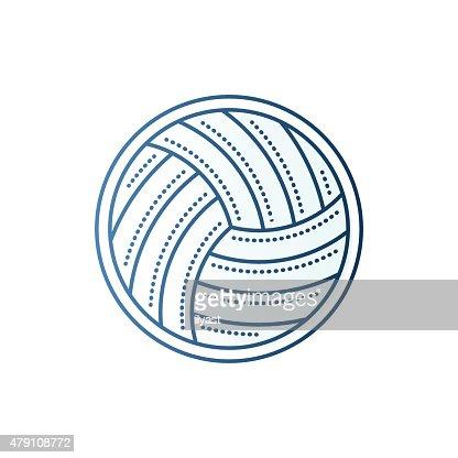 Handball ball vector