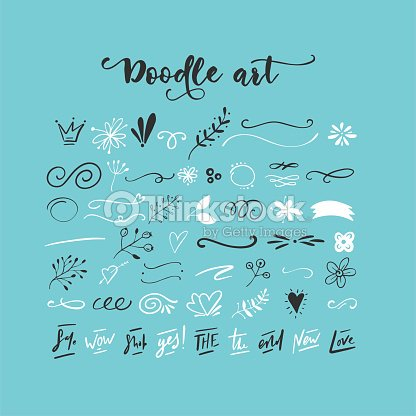 Handdrawn vector doodles : stock vector