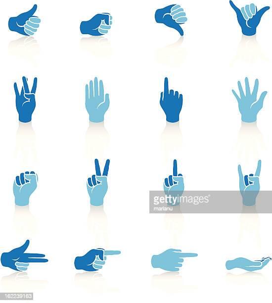 Mains-Série bleue