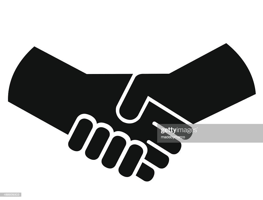 handshake or shaking hands vector art thinkstock rh thinkstockphotos ca shaking hands vector art shaking hands vector free download