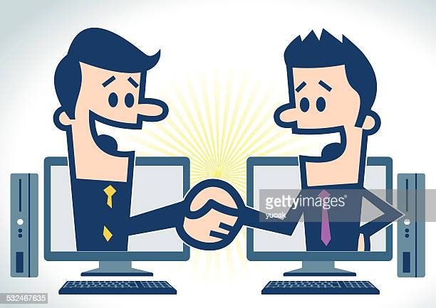 Handshake with PC