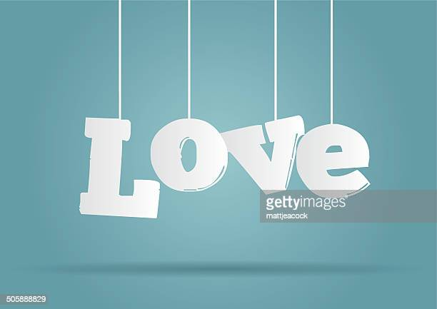 Parola amore appeso