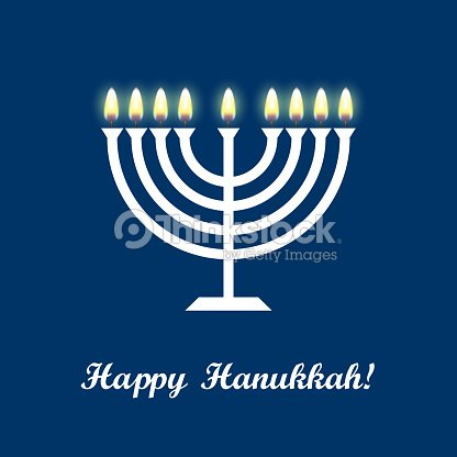 Hanukkah greeting card with candles and menorah happy hanukkah hanukkah greeting card with candles and menorah happy hanukkah vector art m4hsunfo