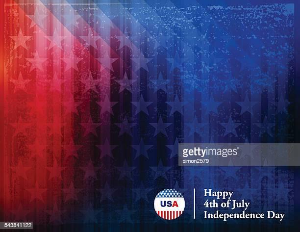 Heureuse Fête de l'indépendance 4 juillet, fond de