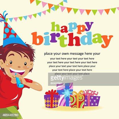 Happy Birthday Invitation Vector Art – Happy Birthday Invite