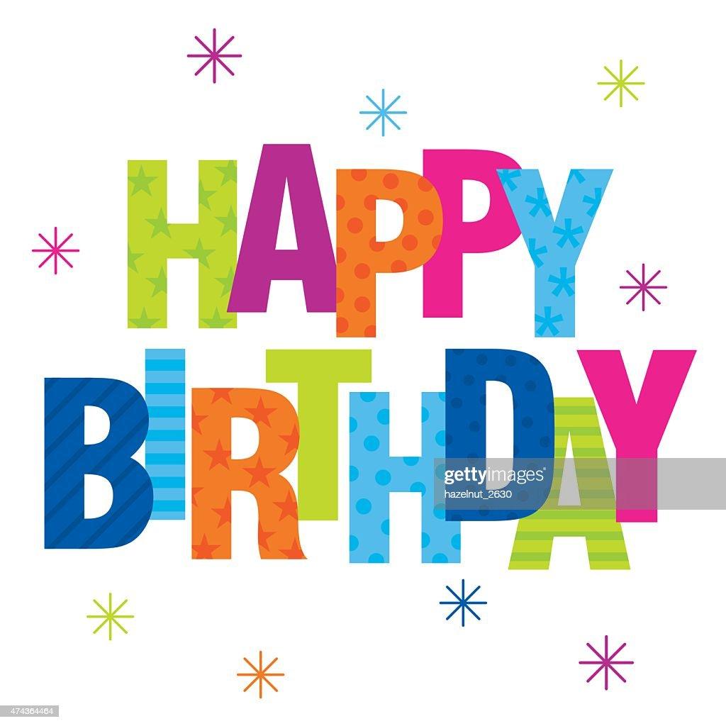 happy birthday vector art thinkstock rh thinkstockphotos com birthday cake vector art birthday vector art free download