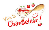 Happy Candlemas in French : Vive la Chandeleur