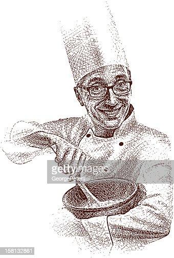 Happy Chef : Arte vettoriale