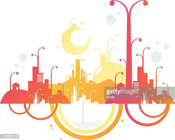 Happy crazy city