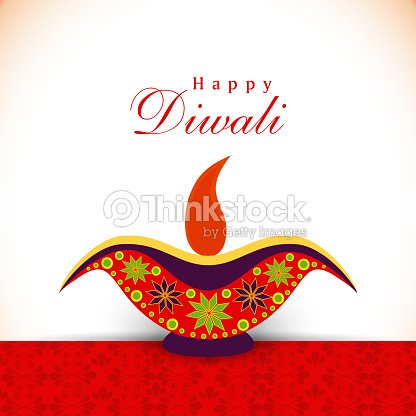Happy diwali greeting card with illuminated colorful oil lit lamp happy diwali greeting card with illuminated colorful oil lit lamp vector art m4hsunfo