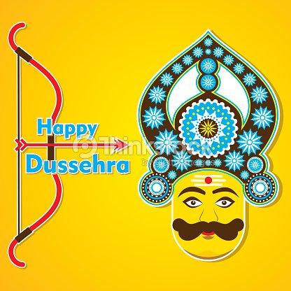 Happy dussehra greeting card design vector art thinkstock happy dussehra greeting card design vector art m4hsunfo