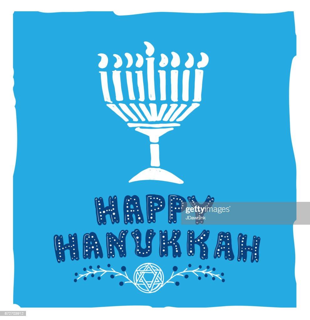 Happy hanukkah greeting card design template vector art getty images happy hanukkah greeting card design template vector art m4hsunfo