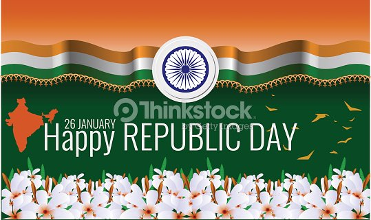 Happy indian republic day background greeting card vector happy indian republic day background greeting card vector illustration vector art m4hsunfo