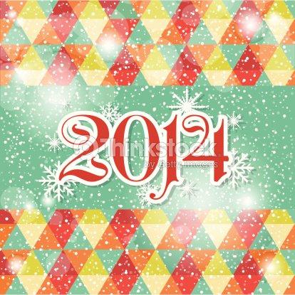 Happy new year 2014 celebration greeting card design vector art happy new year 2014 celebration greeting card design vector art m4hsunfo