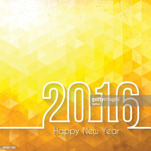 happy new year 2016 - Abstract Geometric Background