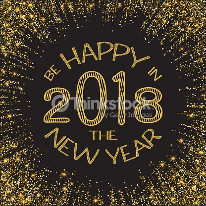 happy new year 2018 gold glitter new year gold background for flyer poster sign banner web header abstract golden background for text type quote