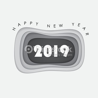 happy new year 2019 backgroundvector illustration for holiday design party postergreeting card designbanner or invitation template