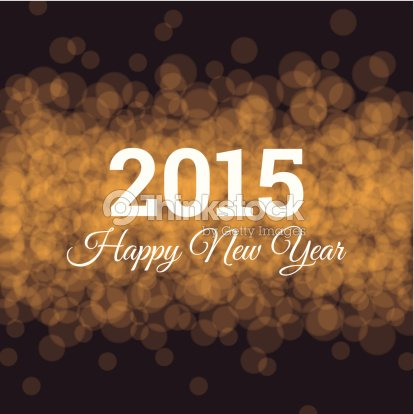 happy new year card gold glitter background twinkled bright vector art