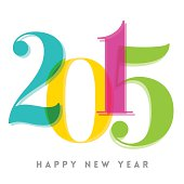 2015 Happy New Year number