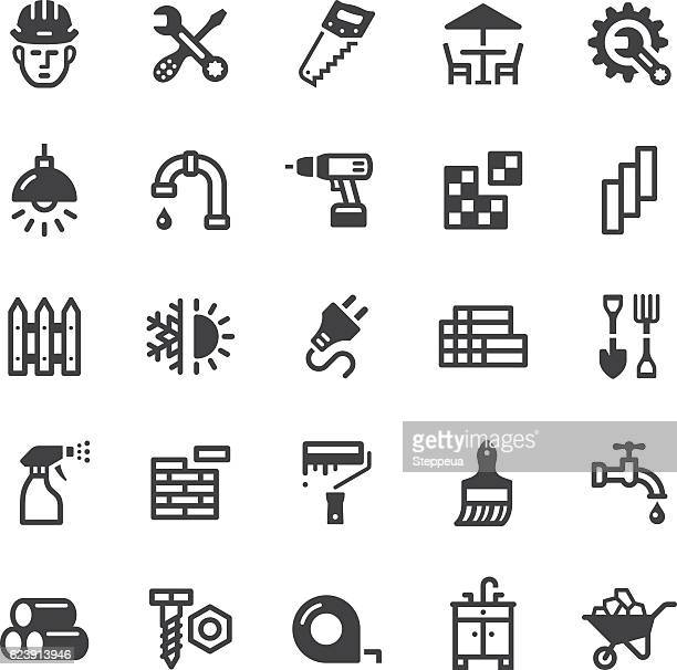hardware store icons - Black series