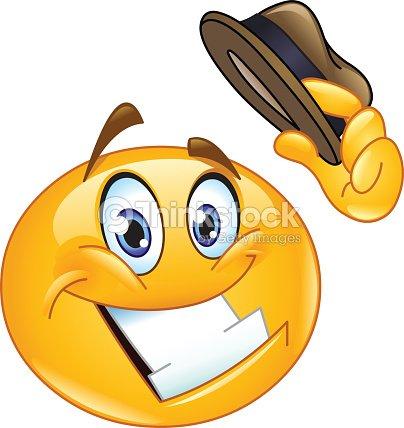 Sombrero punta emoticono   Arte vectorial 51ef6626aae