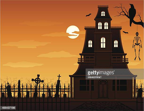 Haunted House and Cemetery