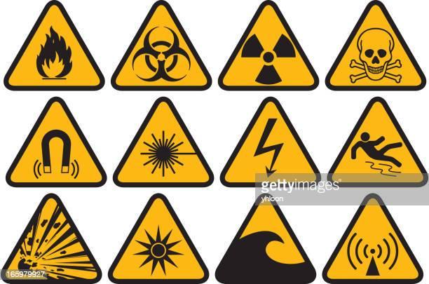 Símbolo de riesgos