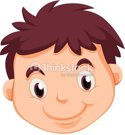 Tête Dun Jeune Homme Clipart vectoriel | Thinkstock