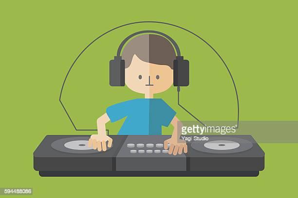 DJ Headphone Turntable