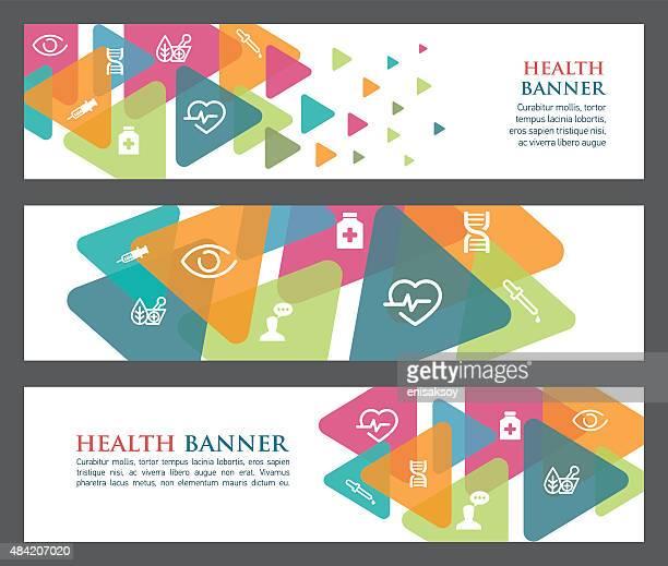 Health banners