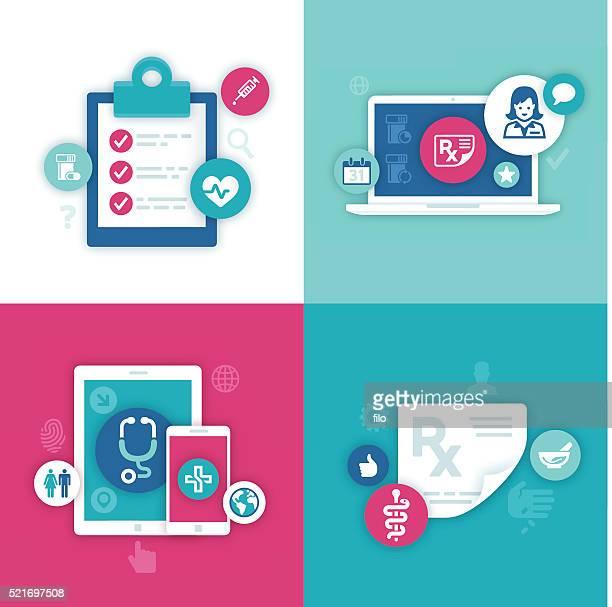 Health Information Symbols