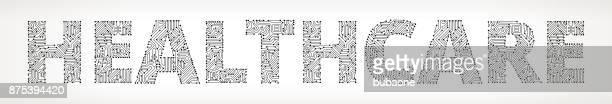 Botones de Vector de circuito profesional de la salud
