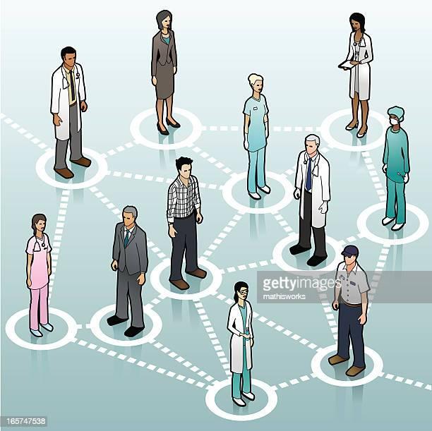 Sanità comunicazione di rete
