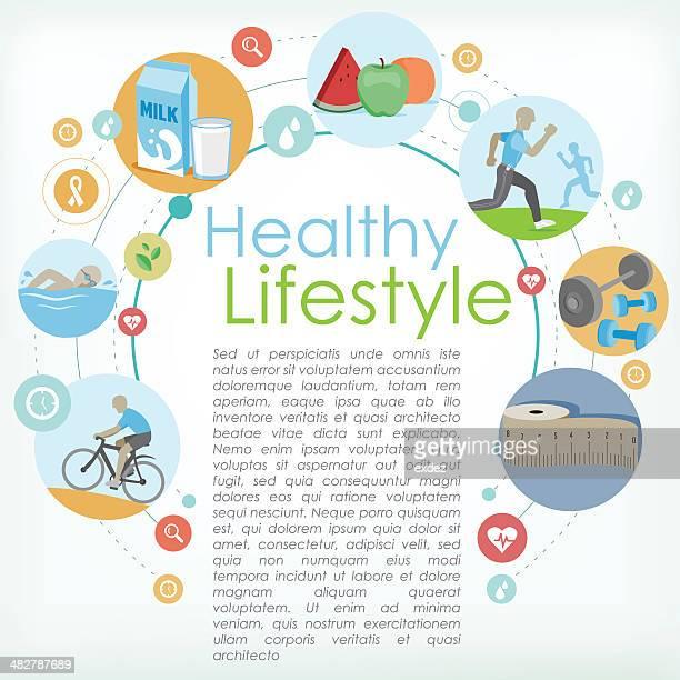 Healthy life copyspace