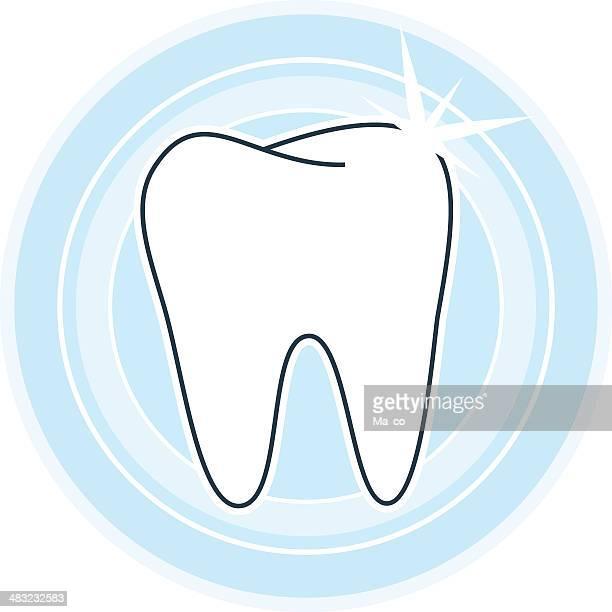 Símbolo de dientes sanos