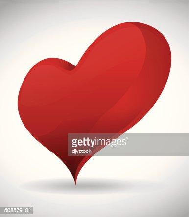 Coeur design : Clipart vectoriel