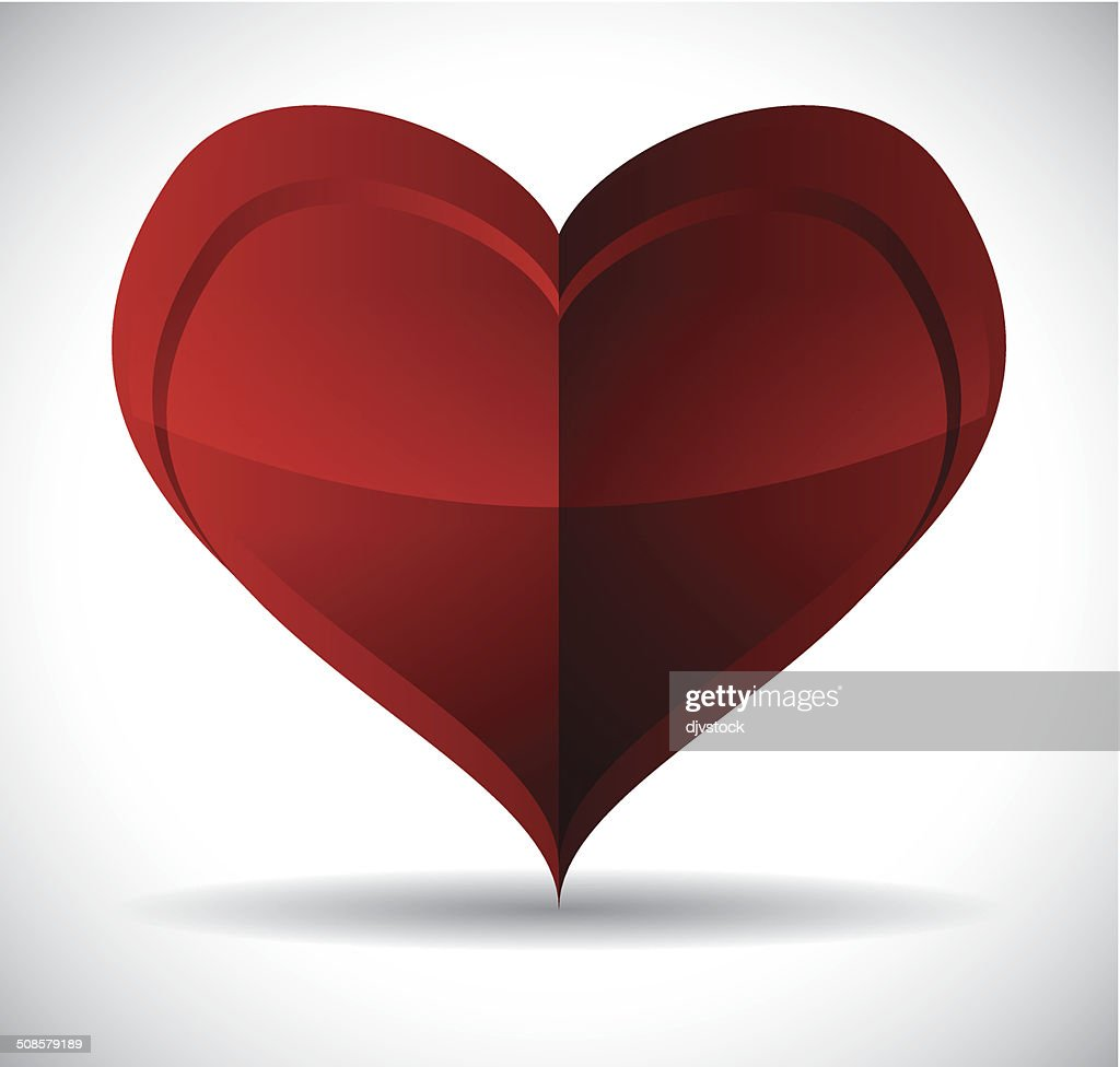 Heart design : Vektorgrafik