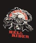 Vector Hell Rider