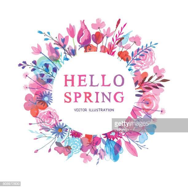 Hallo Frühling banner