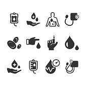 Hematology Icons - Gray Version