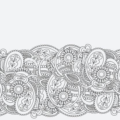 Henna mehndi card template mehndi invitation design vector art henna mehndi card template mehndi invitation design vector art stopboris Images