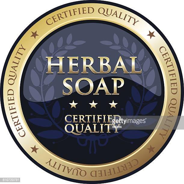 Herbal Seife Gold-Symbol